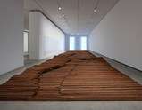"Installation view of artwork ""Straight"" of exhibition Ai Weiwei Ruptures 6"