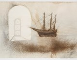 Photo of artwork Church and warship model by Cai Guo-Qiang of exhibition A Clan of Boats 1