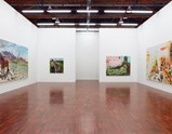 "Installation view of exhibition ""Painting as Shooting"" by Liu Xiaodong 4"