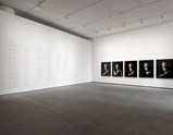 "Installation view of artwork ""The Book of Kings"" by Shirin Neshat of exhibition I Look at Things... 4"