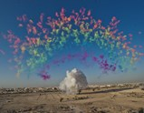 "Photo of artwork ""Black Ceremony"" by Cai Guo-Qiang 1"