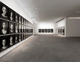 "Installation view of artwork ""The Books of Kings"" by Shirin Neshat of exhibition I Look at Things... 5"