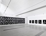 Installation view of exhibition The Book of Kings by Shirin Neshat