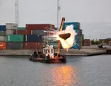 Photo of artwork Freja by Cai Guo-Qiang of exhibition A Clan of Boats 2