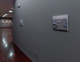 "Installation view of exhibition ""Painting as Shooting"" by Liu Xiaodong 5,1"